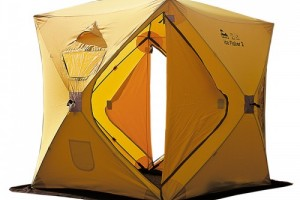 Серия зимних палаток от компании Трамп